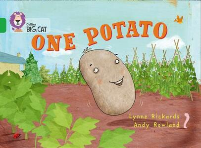 One Potato: Band 05/Green - Lynne Rickards - cover