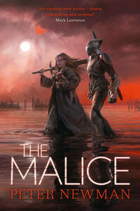 The Malice - Peter Newman - cover