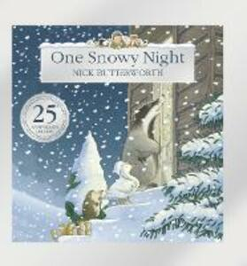 One Snowy Night (25th Anniversary Edition) - Nick Butterworth - cover