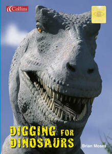 Digging for Dinosaurs - Brian Moses - cover