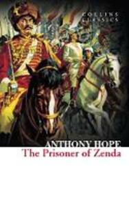 The Prisoner of Zenda - Anthony Hope - cover