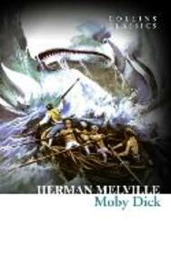 Moby Dick - Herman Melville - cover