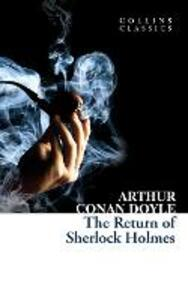 The Return of Sherlock Holmes - Arthur Conan Doyle - cover