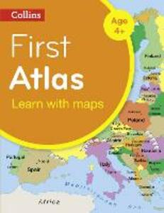 Collins First Atlas - Collins Maps - cover