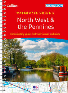 North West & the Pennines: Waterways Guide 5 - Collins Maps - cover
