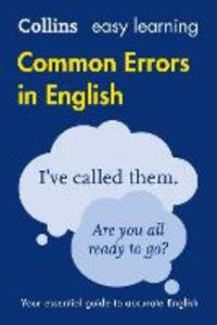 Collins Common Errors in English - Collins Dictionaries - cover