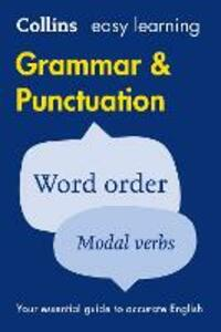 Easy Learning Grammar and Punctuation - cover