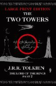 The Two Towers - J. R. R. Tolkien - cover