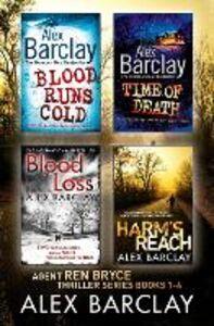 Foto Cover di Alex Barclay 4-Book Thriller Collection, Ebook inglese di Alex Barclay, edito da HarperCollins Publishers