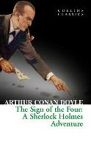 The Sign of the Four - Arthur Conan Doyle - cover