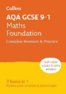 AQA GCSE 9-1 Maths Foundation All-in-One Revision and Practice - Collins GCSE - cover