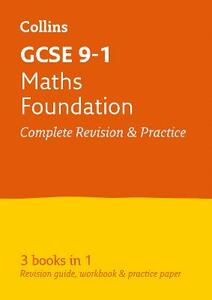 GCSE 9-1 Maths Foundation All-in-One Revision and Practice - Collins GCSE - cover