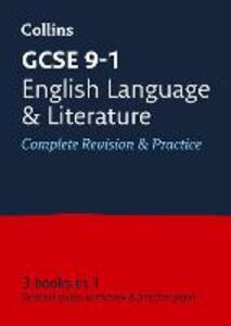 GCSE 9-1 English Language and English Literature All-in-One Revision and Practice - Collins GCSE - cover