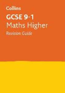 GCSE 9-1 Maths Higher Revision Guide - Collins GCSE - cover