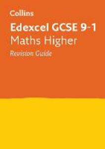 Edexcel GCSE 9-1 Maths Higher Revision Guide - Collins GCSE - cover