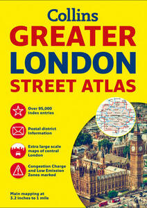Greater London Street Atlas - Collins Maps - cover