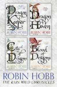 Ebook in inglese Rain Wild Chronicles: The Complete 4-Book Collection Hobb, Robin