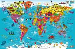 Libro in inglese Collins Children's World Map Collins Maps