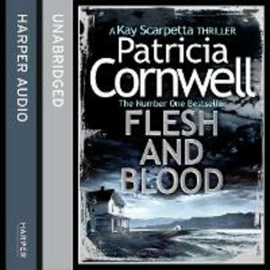 Flesh and Blood - Patricia Cornwell - cover