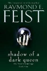 Shadow of a Dark Queen - Raymond E. Feist - cover