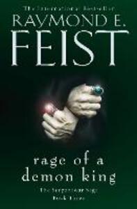 Rage of a Demon King - Raymond E. Feist - cover