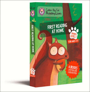 Level 1: First Reading at Home - cover