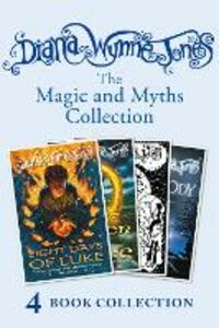 Ebook in inglese Diana Wynne Jones's Magic and Myths Collection (The Game, The Power of Three, Eight Days of Luke, Dogsbody) Jones, Diana Wynne