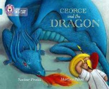 George and the Dragon: Band 13/Topaz - Saviour Pirotta - cover