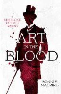 Art in the Blood - Bonnie MacBird - cover