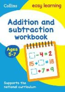 Addition and Subtraction Workbook Ages 5-7: New Edition - Collins Easy Learning,Peter Clarke - cover