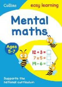 Mental Maths Ages 5-7: New Edition - Collins Easy Learning,Peter Clarke - cover