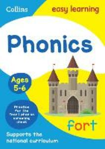 Phonics Ages 5-6: New Edition - Collins Easy Learning,Rachel Grant,Sarah Lindsay - cover