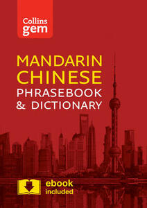 Collins Mandarin Chinese Phrasebook and Dictionary Gem Edition: Essential Phrases and Words in a Mini, Travel-Sized Format - Collins Dictionaries - cover