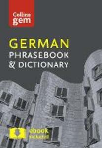 Collins German Phrasebook and Dictionary Gem Edition: Essential Phrases and Words in a Mini, Travel-Sized Format - Collins Dictionaries - cover