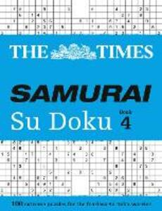 The Times Samurai Su Doku 4: 100 Challenging Puzzles from the Times - The Times Mind Games - cover