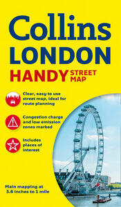 Collins Handy Street Map London - Collins Maps - cover
