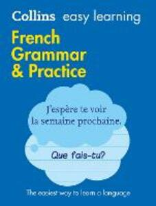 Easy Learning French Grammar and Practice - Collins Dictionaries - cover