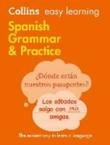 Easy Learning Spanish Grammar and Practice - Collins Dictionaries - cover
