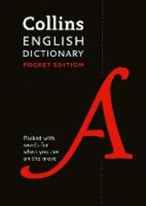 Collins English Dictionary Pocket edition: 85,000 Words and Phrases in a Portable Format - Collins Dictionaries - cover