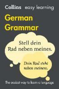Easy Learning German Grammar - Collins Dictionaries - cover