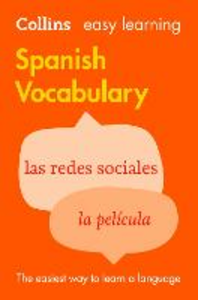Ebook in inglese Easy Learning Spanish Vocabulary Dictionaries, Collins