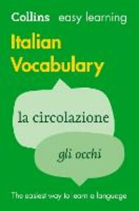 Ebook in inglese Easy Learning Italian Vocabulary Dictionaries, Collins