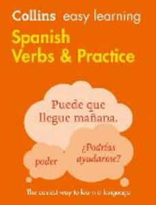 Easy Learning Spanish Verbs and Practice - Collins Dictionaries - cover
