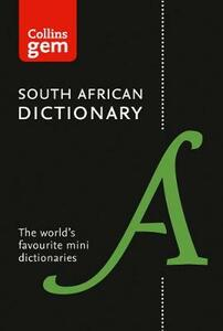 Collins Gem South African Dictionary - Collins Dictionaries - cover