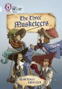 The Three Musketeers: Band 17/Diamond - Martin Howard - cover
