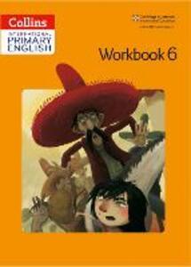 International Primary English Workbook 6 - Jennifer Martin - cover