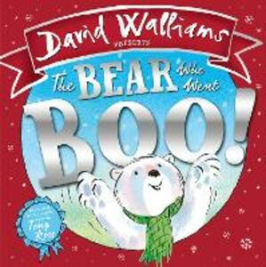 The Bear Who Went Boo! - David Walliams - cover