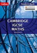 Libro in inglese Cambridge IGCSE Maths Student Book Chris Pearce