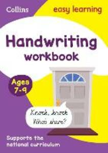 Handwriting Workbook Ages 7-9: New edition - Collins Easy Learning - cover