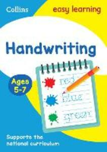 Handwriting Ages 5-7 - Collins Easy Learning - cover